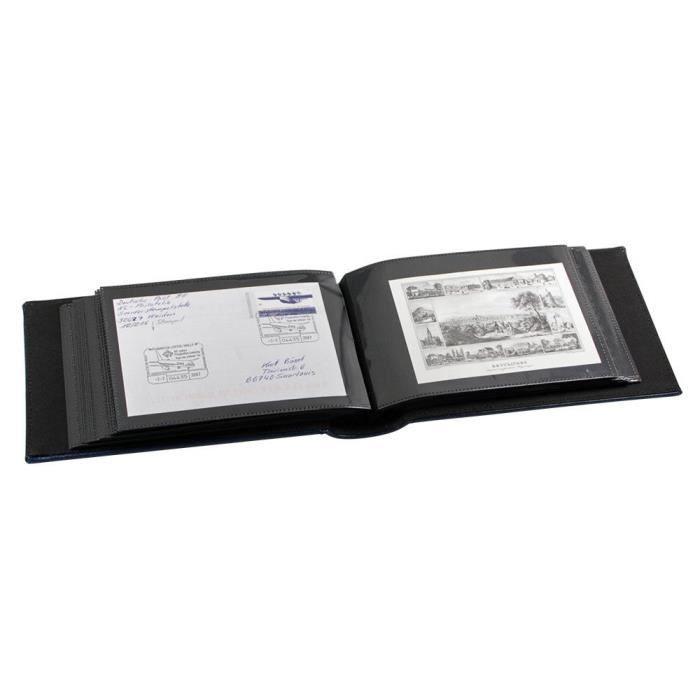 Album de Poche, 20 Feuilles pour 40 Cartes Postales Anciennes ou Modernes