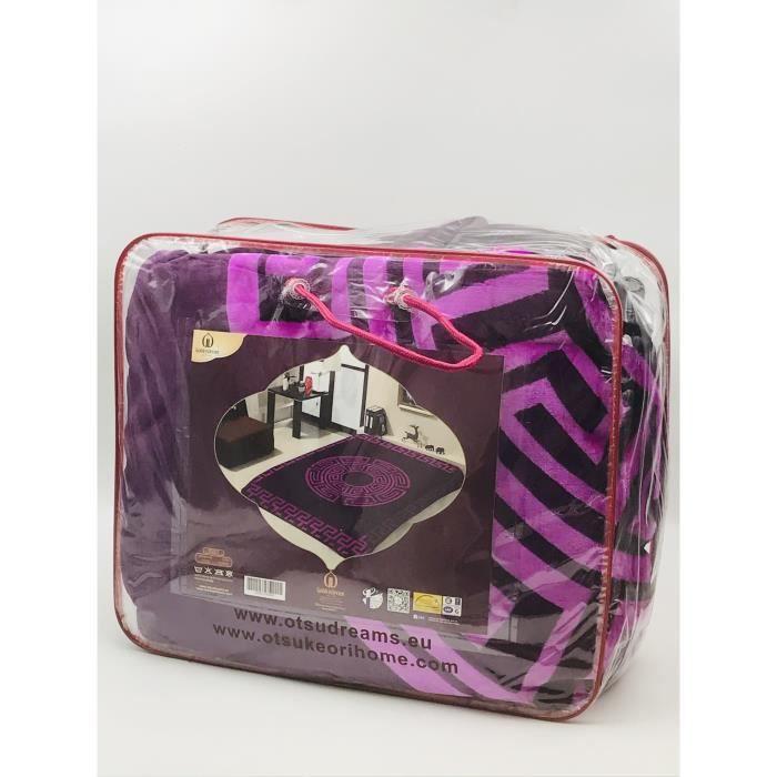 Couverture Goldendream Face Violet-Violet clair - marron clair-LIVRAISON GRATUITE