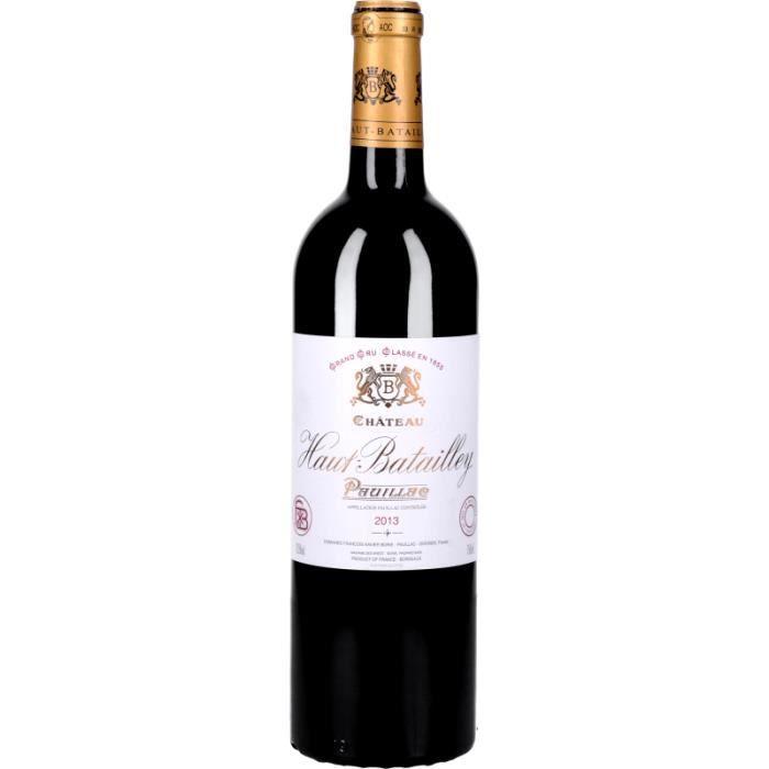 Vin Rouge - Château Haut-Batailley 2013 - Bouteille 75cl