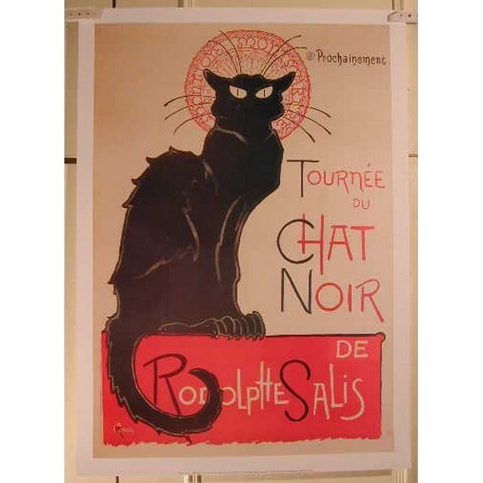 Tournèe du chat noir - 50x70cm - AFFICHE - POSTER