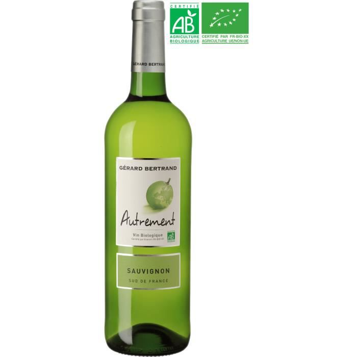 Gérard Bertrand Autrement Sauvignon IGP Pays d'Oc - Vin blanc du Languedoc-Roussillon - Bio