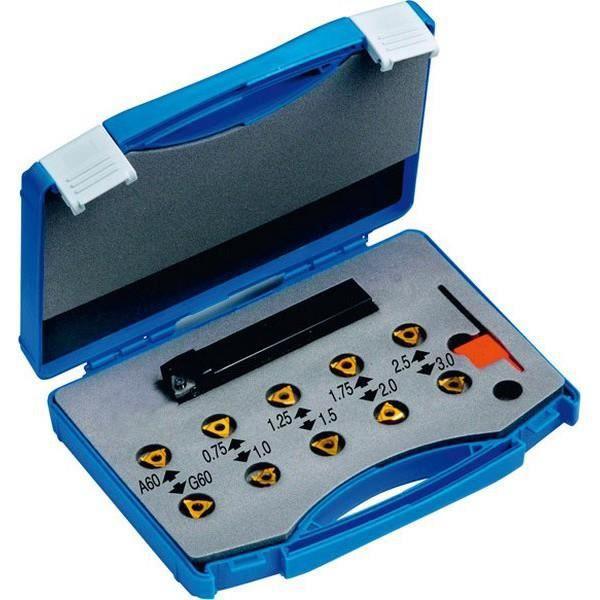 Kit de plaquettes carbure ISO-KEG, usinage extérieur
