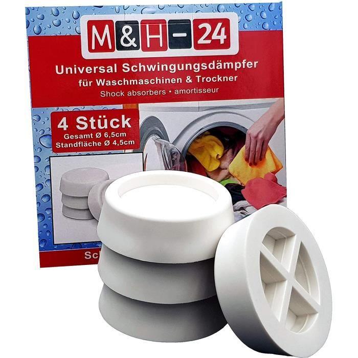 M&H-24 Amortisseurs / Vibration Silencieux / Tapis Anti-Vibration pour Machine à laver et sèche-linge, Machine à laver Accessoires