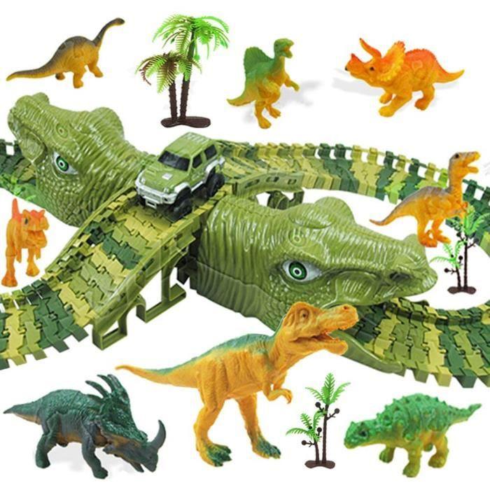 VEHICULE MINIATURE ASSEMBLE ENGIN TERRESTRE MINIATURE ASSEMBLE MOOKLIN ROAM 153 Pi&egraveces Circuit Dinosaure Voiture Jouet,539