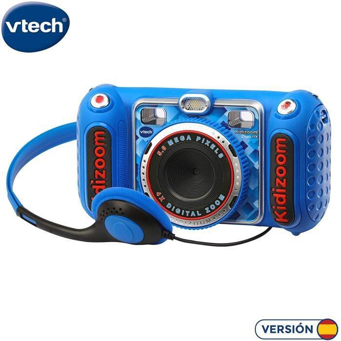 Appareils photos numériques pour enfants VTech - KIDIZOOM Duo DX 1 Bleu Appareil Photo numérique avec 10 Fonctions diffé 346996
