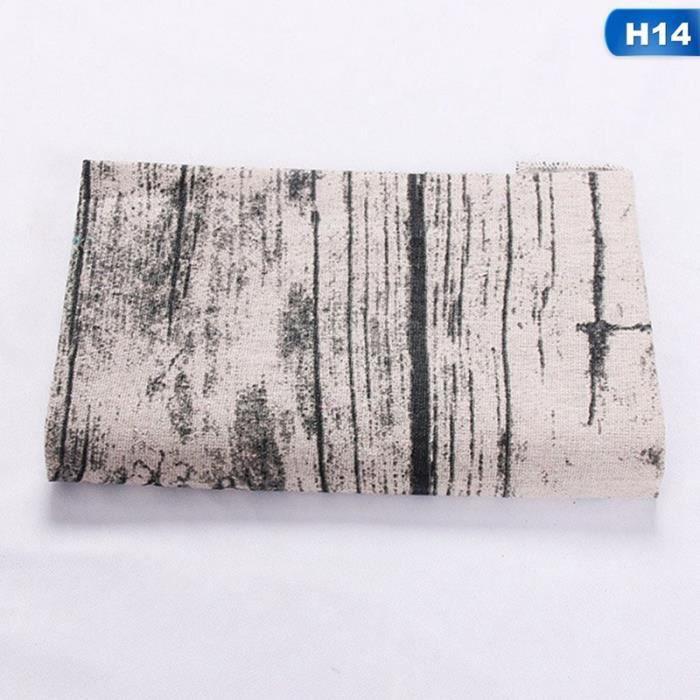 Hg20569h14 Nappe nordique en coton et lin, Plaid jaune rayé, tapis de Table de noël, décor de maison, rectang