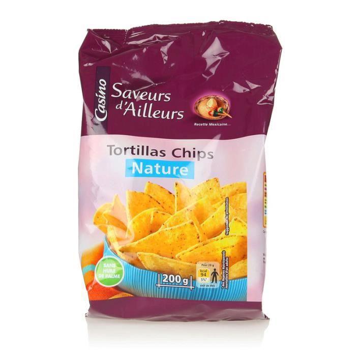 Tortilla chips nature - 200 g
