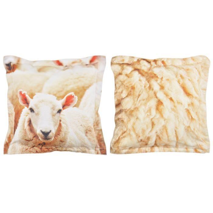 Coussin d'extérieur motif mouton S Esschert Design BK001