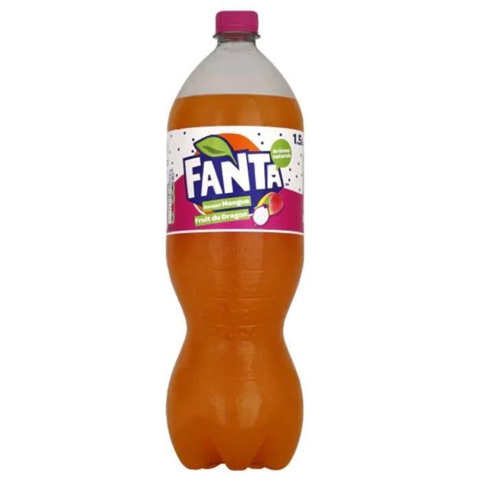 Fanta Mangue Fruit du Dragon 1,5L (pack de 6)