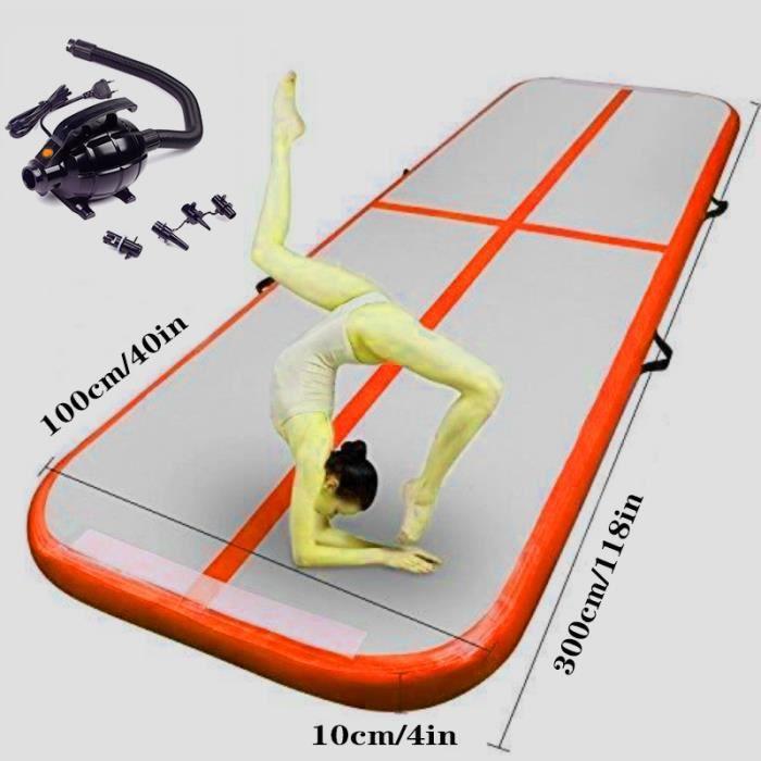 Livraison Gratuite 3 M Matelas de Gymnastique Gonflable Gym Dégringolade Air Piste Plancher Culbutant Air Piste Tapis Pour Adultes