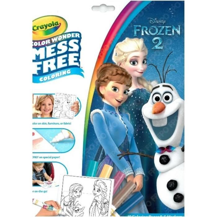 GOLIATH Kit Color Wonder Reine des Neiges 2