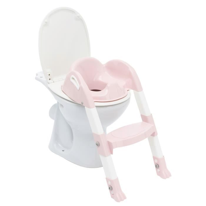 THERMOBABY Reducteur de wc kiddyloo® - Rose poudré