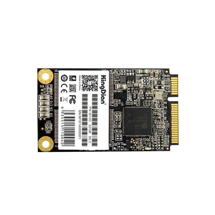 Disque Dur Interne - KINGDIAN - Disque dur SSD Kingdian M100 32 Go / disque dur mSATA, format: 5 x 3 cm