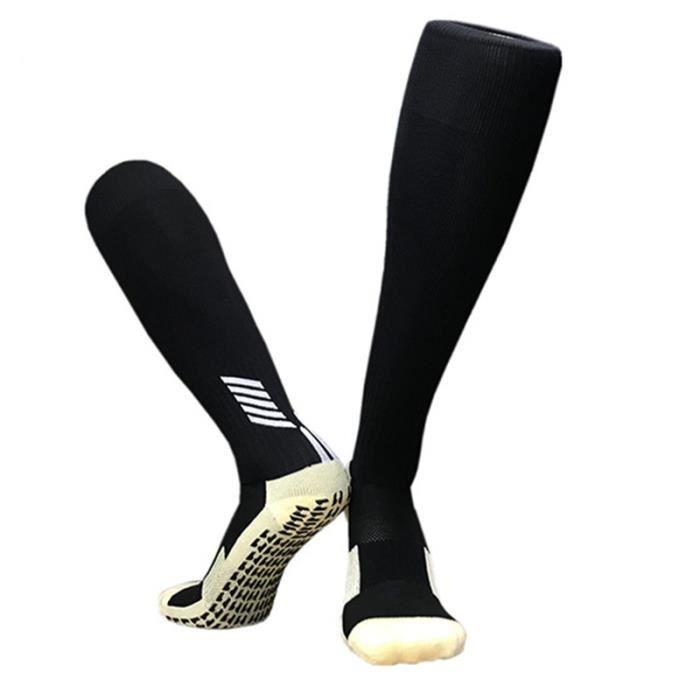 Chaussettes de football enfants antidérapantes épaisses Chaussettes de basketball de sport hautes respirantes pour garçons filles