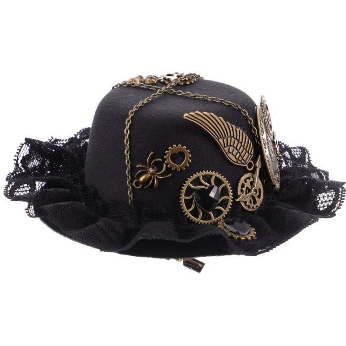 1 pc Steampunk accessoires belle épingle à élégante pour quotidiens cadeau CASQUETTE