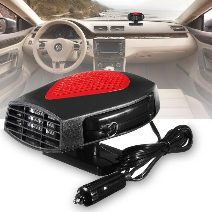 NEUFU Voiture Chauffage Portable Ventilateur Car Heater Fan Radiateur Chaud 12V 150W