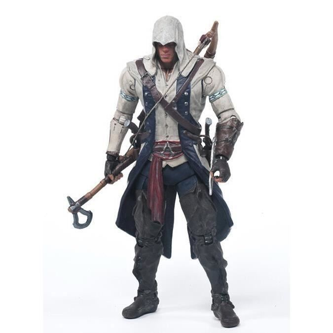 Figurine Assassin 's Creed 4,Connor,15cm hauteur
