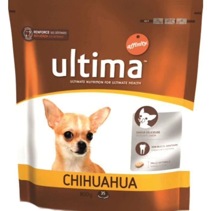 ULTIMA Croquettes au poulet - Pour Chihuahua - 800G