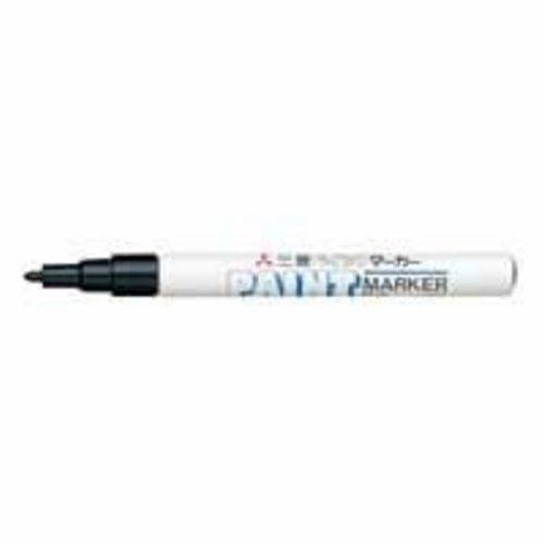 Uniball - Uni Paint PX21/N - Marqueur peinture à huile - Pointe fine ogive - Encre à pigmentation Noir - Lot de 12
