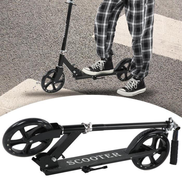ABI Trottinette Adulte Charge Max 100 kg Pliable- Grandes Roues- Hauteur Réglable tout neuf