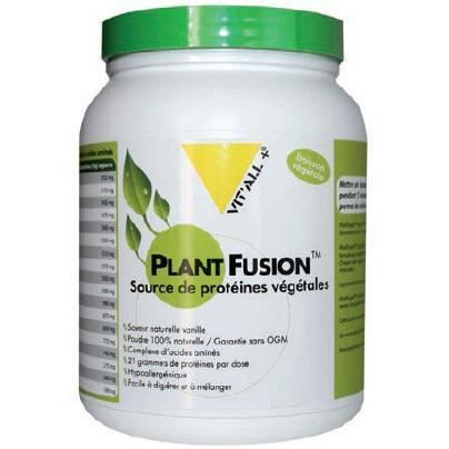 Plant Fusion Complexe Proteines Saveur vanille …