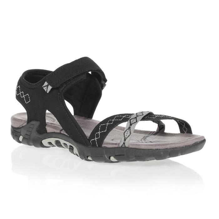 WANABEE Sandales de randonnée Sand 200 - Femme - Noir