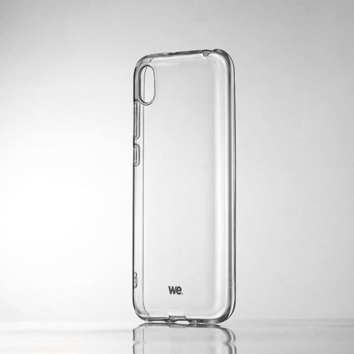 WEWE Coque de protection transparente pour smartphone HONOR 8S Fabriqué en TPU. Ultra résistant Apparence du téléphone conservée.