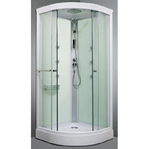 cabine de douche hydromassante 1 4c arpege 90cm achat vente douche receveur cabine de. Black Bedroom Furniture Sets. Home Design Ideas