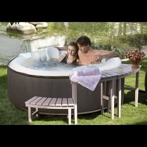 Spa gonflable succes as01 4 personnes ospazia achat - Jacuzzi gonflable occasion ...