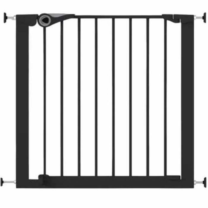 Noma Barrière de Sécurité Extensible 62-102 cm Métal Blanc Bébé Enfant 93361
