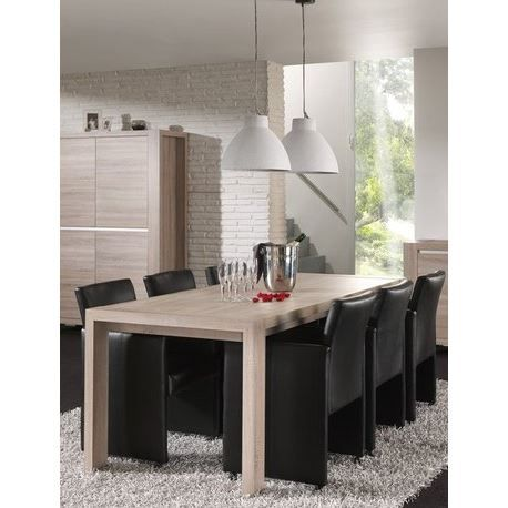 Table de salle manger contemporaine sybel achat for Table de salle a manger contemporaine