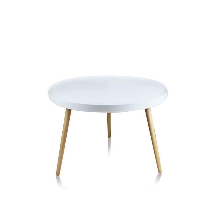 Deco table basse scandinave for Table basse blanc scandinave