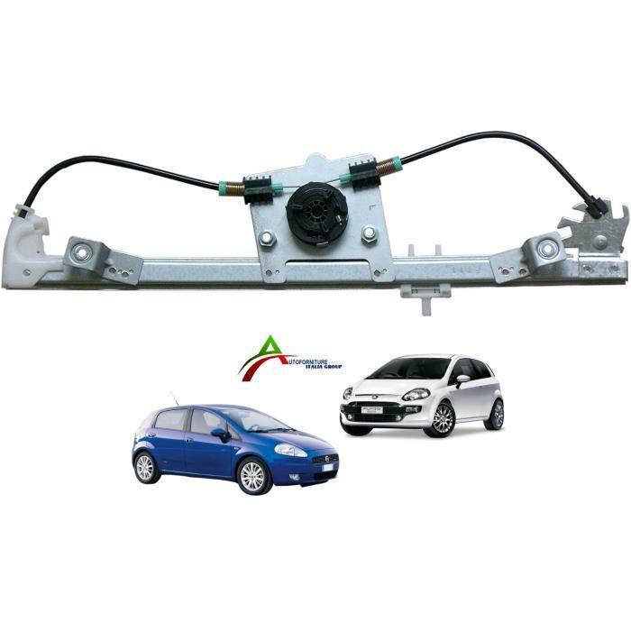 Mécanisme lève vitre électrique avec Moteur FIAT Punto 51895385 51765575
