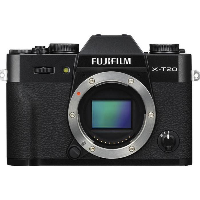 Photo de hybride-fujifilm-x-t20-boitier-nu-argent-objectif-xf