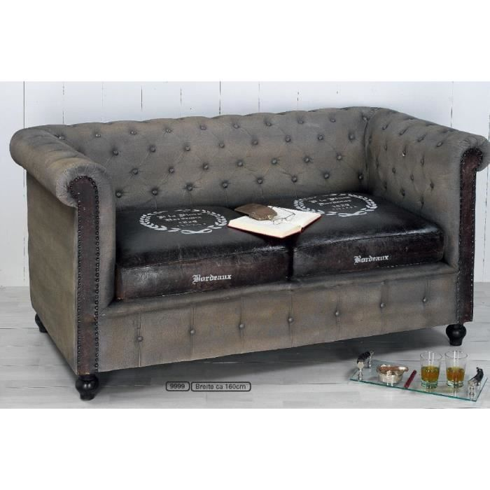 canap chesterfield bordeaux achat vente canap sofa. Black Bedroom Furniture Sets. Home Design Ideas