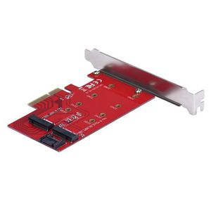 CARTE CONTROLEUR 2 Port NGFF M.2 B + M clé SSD PCI-E PCI Express 4X