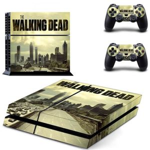 STICKER - SKIN CONSOLE Sticker-decal Autocollant Ps4 - the walking dead c