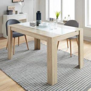 TABLE À MANGER SEULE Table à manger de 4 à 6 personnes style contempora
