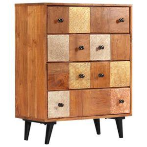 COMMODE DE CHAMBRE INGSHOP© Commode à tiroirs 60 x 30 x 75 cm Bois d'