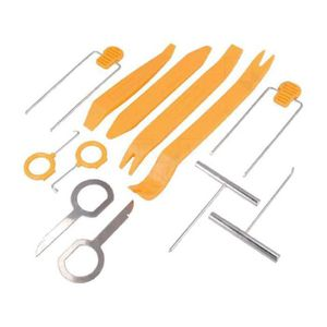 INSTALLATION AUTORADIO Kit cles extraction autoradio et outils de demonta