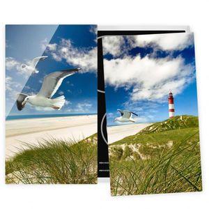 PLAQUE INDUCTION Couvre plaque de cuisson - Dune Breeze - 52x60cm,