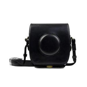 SAC PHOTO Rncyn Sac PU pour appareil photo en cuir compatibl