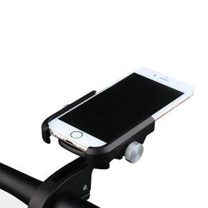 Support de t/él/éphone portable moto v/élo 360 degr/és pivotant en alliage daluminium support de t/él/éphone