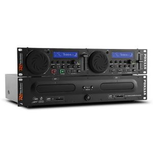 PLATINE DJ Power Dynamics PDX115 Lecteur CD Dual-DJ et Contrô