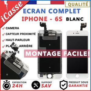 ECRAN DE TÉLÉPHONE VITRE TACTILE + ECRAN LCD COMPLET IPHONE 6S BLANC