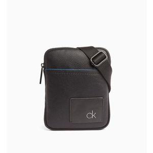 SACOCHE Calvin Klein - Petite sacoche noire homme en simil
