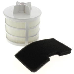 ASPIRATEUR TRAINEAU Filtre hepa + filtre moteur u66 pour Aspirateur Ho
