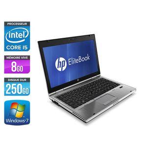 ORDINATEUR PORTABLE Pc portable HP EliteBook 2560P - i5 - 8 Go - 250 G