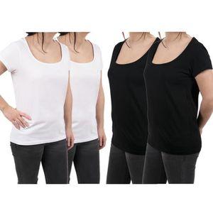 T-SHIRT T shirts Femme Lot de 4 Uni Divinity
