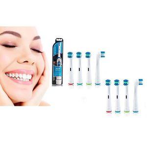 BROSSE A DENTS ÉLEC Brosse à dents électrique Braun Oral-B  et 8 têtes